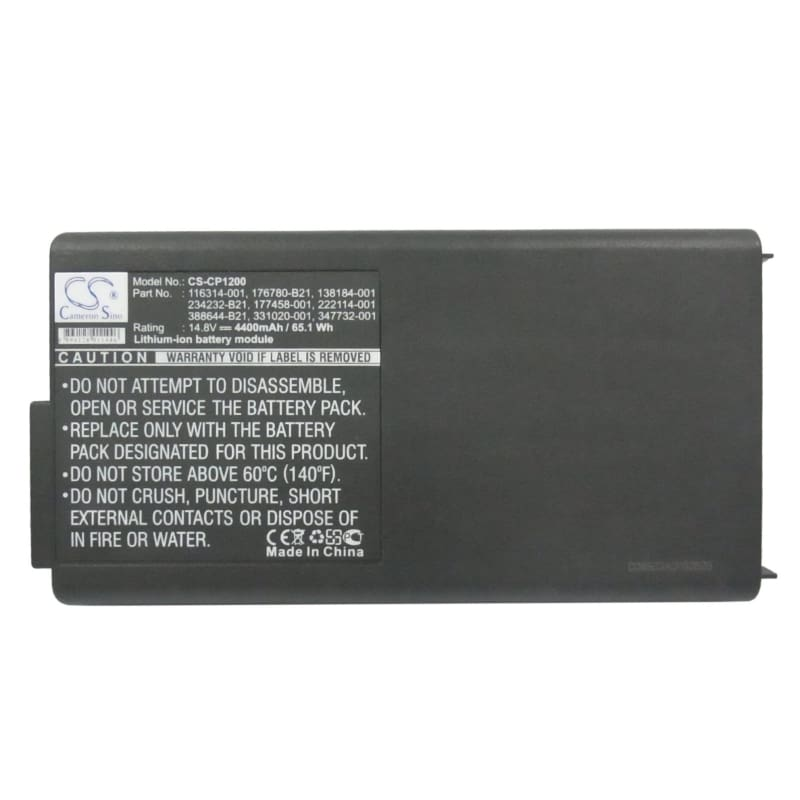 New Premium Notebook/Laptop Battery Replacements CS-CP1200