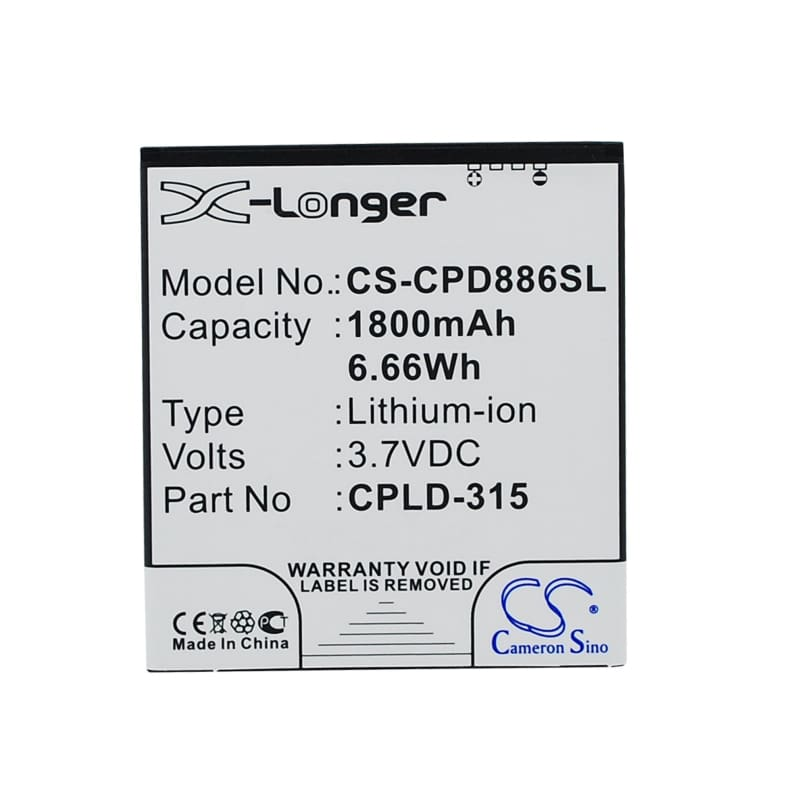 New Premium Mobile/SmartPhone Battery Replacements CS-CPD886SL