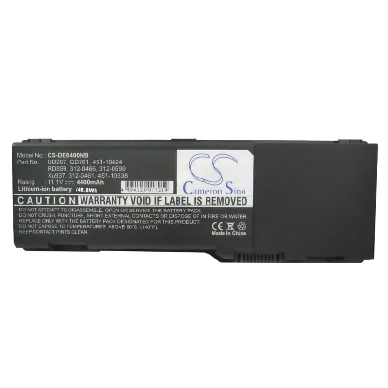 New Premium Notebook/Laptop Battery Replacements CS-DE6400NB