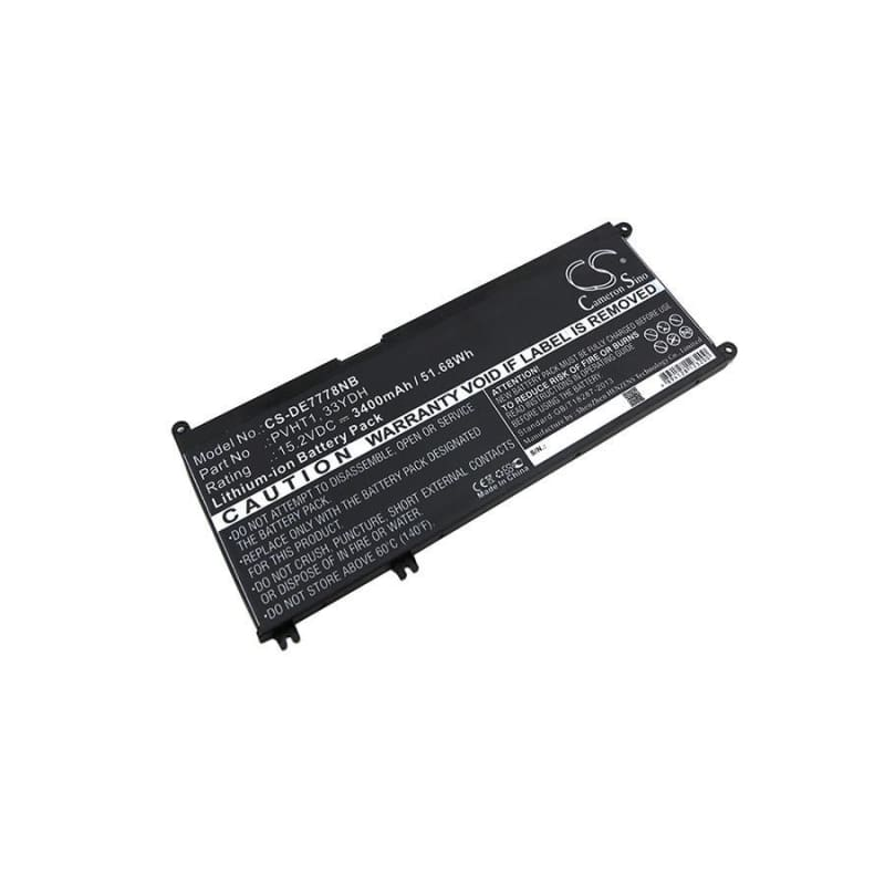 New Premium Notebook/Laptop Battery Replacements CS-DE7778NB