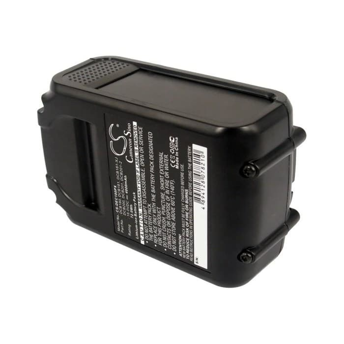New Premium Power Tools Battery Replacements CS-DEC180PX