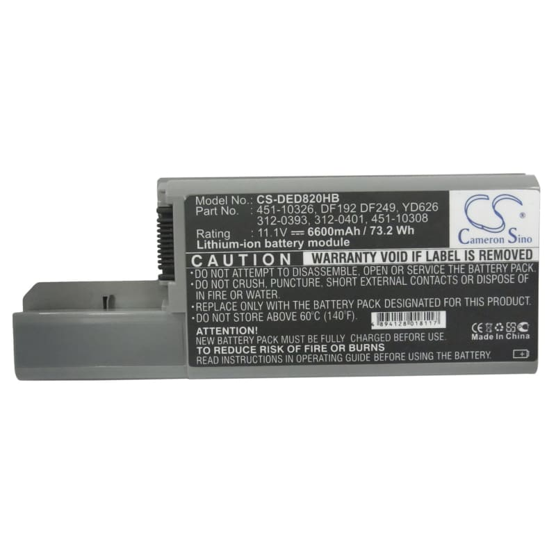 New Premium Notebook/Laptop Battery Replacements CS-DED820HB