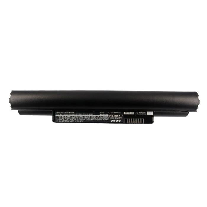 Premium Black Battery for Dell Inspiron Mini 10, Inspiron Mini 1011, Inspiron Mini 10v 11.1V, 4400mAh - 48.84Wh