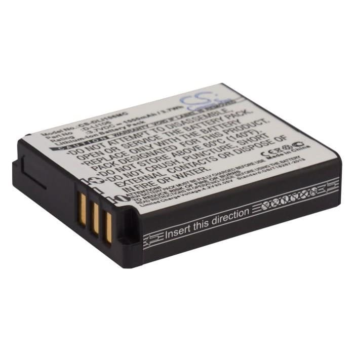 Premium Battery for Kodak Pixpro Sp1, Pixpro Sp1 3.7V, 1000mAh - 3.70Wh