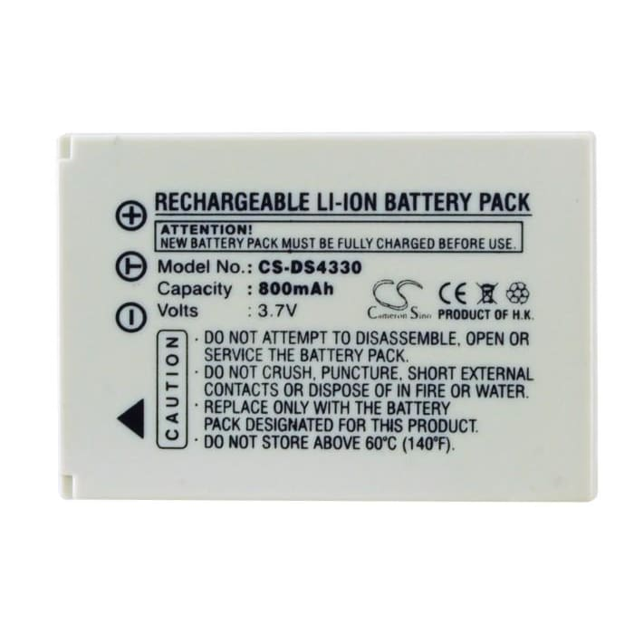 Premium Battery for Benq E-40, S30 3.7V, 800mAh - 2.96Wh