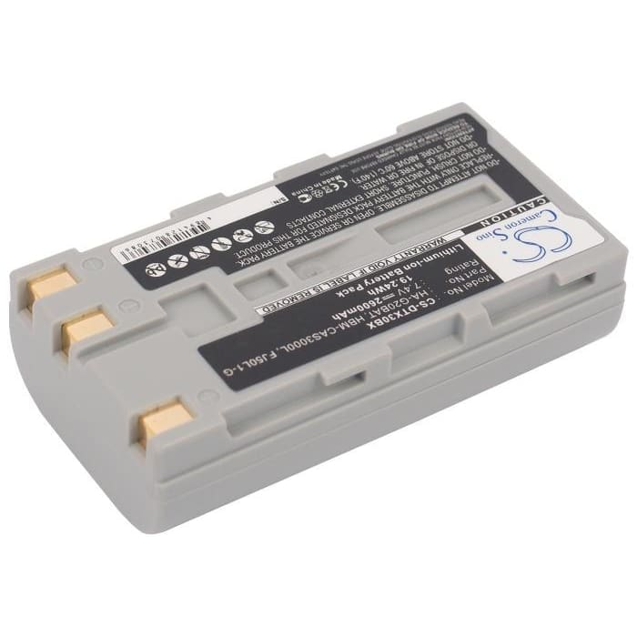 Premium Battery for Casio Dt-x30, Dt-x30g 7.4V, 2600mAh - 19.24Wh