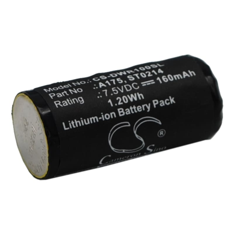 Premium Battery for Dog Watch R-100, R-200 7.5V, 160mAh - 1.20Wh