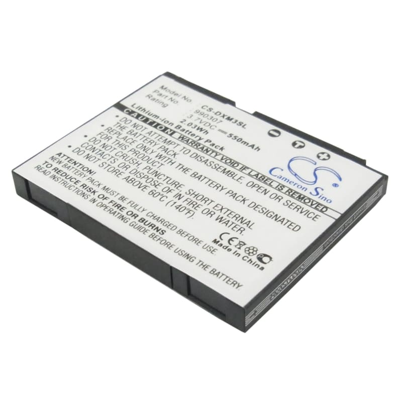 Premium Battery for Delphi Xm Skyfi 3, Sa10225 3.7V, 550mAh - 2.04Wh