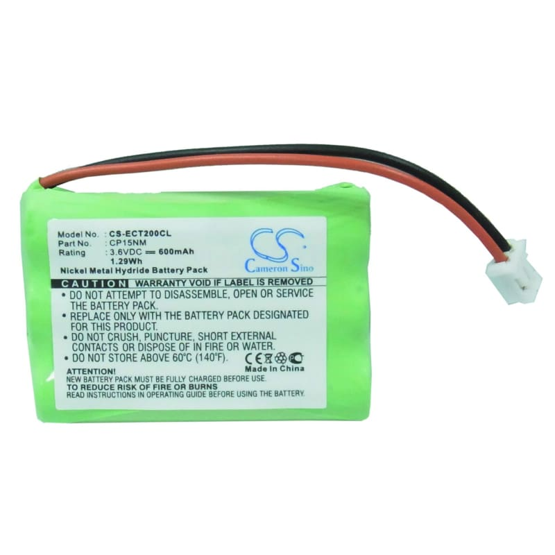 New Premium Cordless Phone Battery Replacements CS-ECT200CL