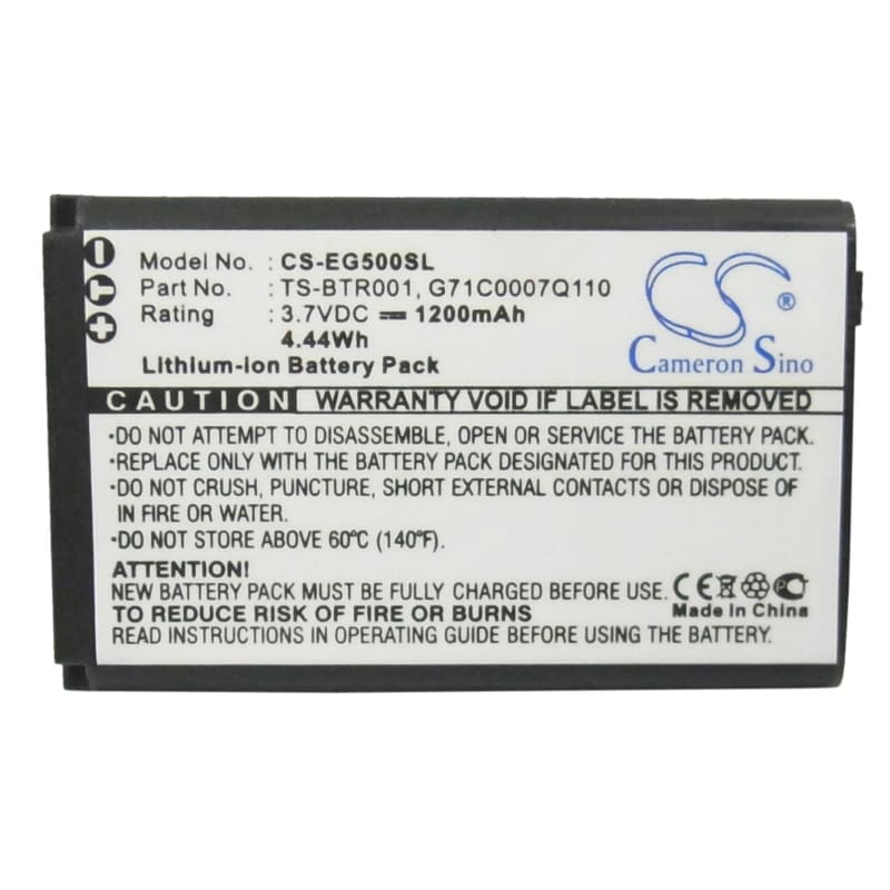 New Premium Mobile/SmartPhone Battery Replacements CS-EG500SL