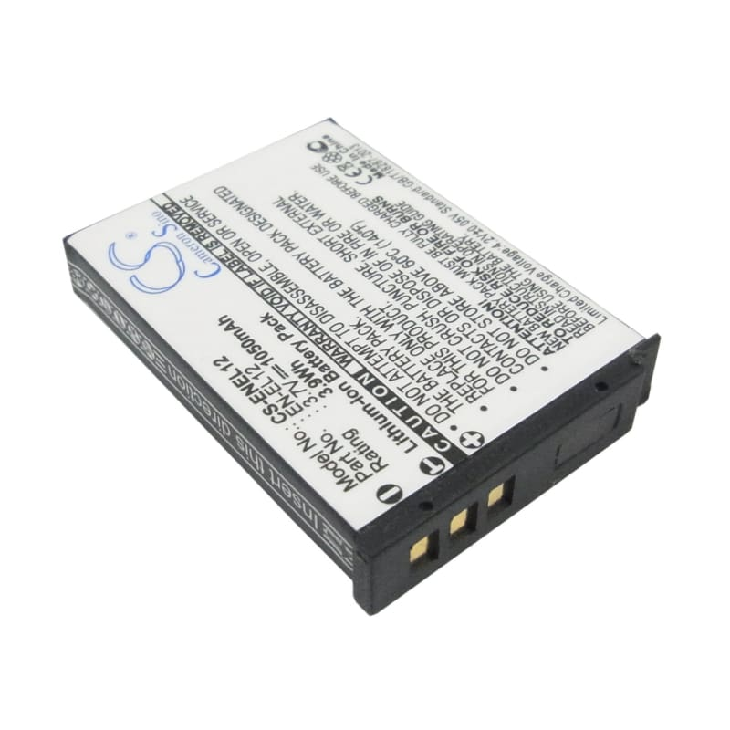 Premium Battery for Nikon Coolpix Aw100s, Coolpix S1000pj, 3.7V, 1050mAh - 3.89Wh