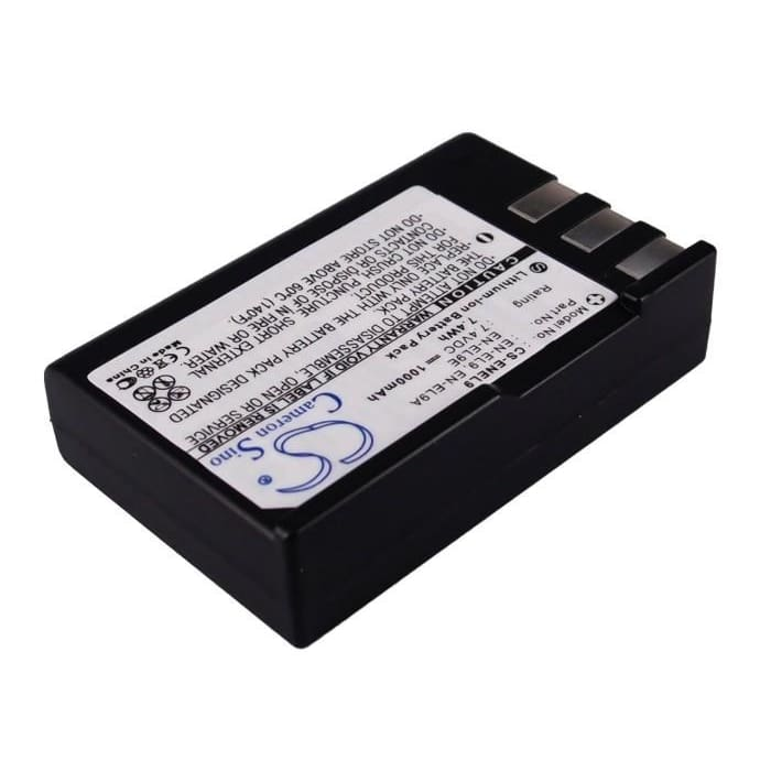Premium Battery for Nikon D3000, D40, D40a, D40c, 7.4V, 1000mAh - 7.40Wh