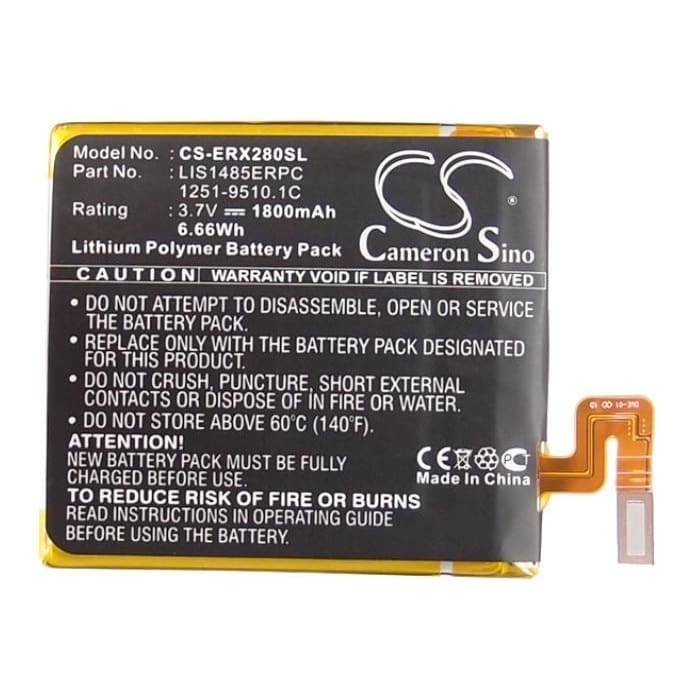 New Premium Mobile/SmartPhone Battery Replacements CS-ERX280SL
