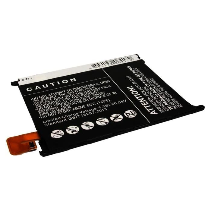 Premium Battery for Sony Ericsson Xperia Z Ultra, XL39, XL39h 3.8V, 3000mAh - 11.40Wh