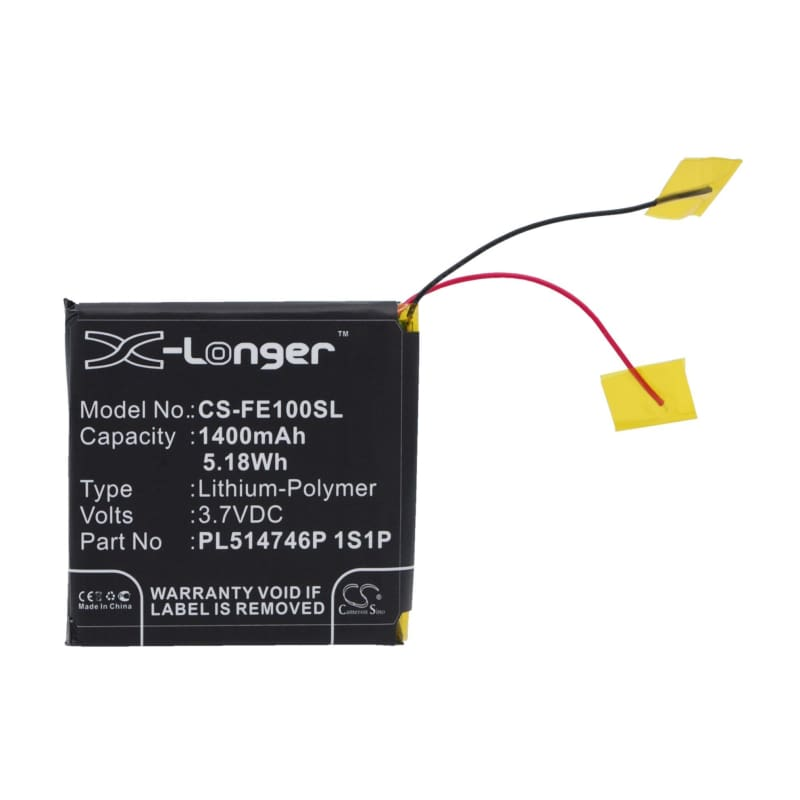 New Premium Amplifier Battery Replacements CS-FE100SL