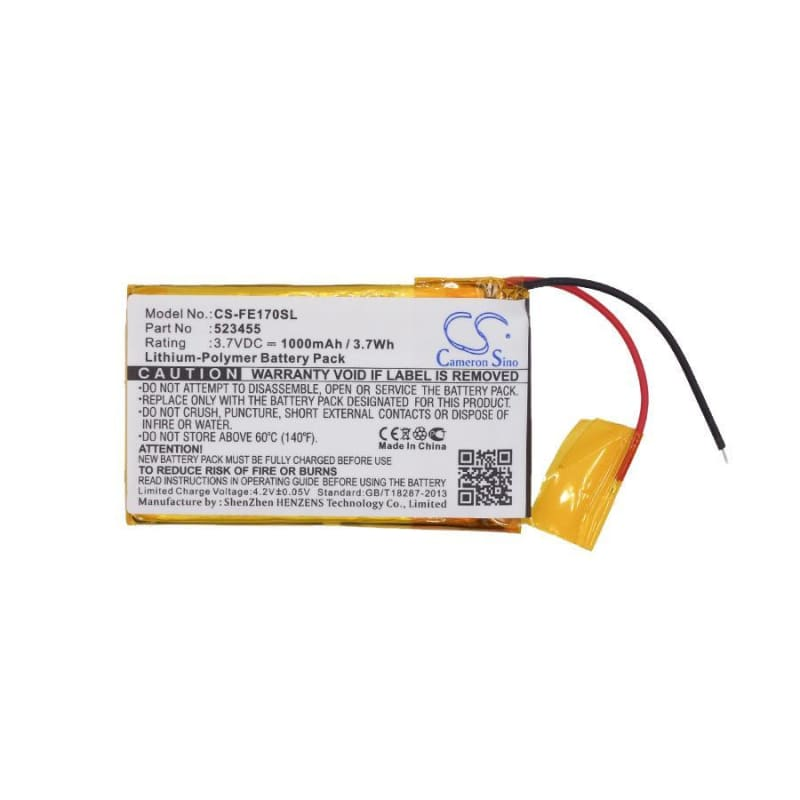 New Premium Amplifier Battery Replacements CS-FE170SL