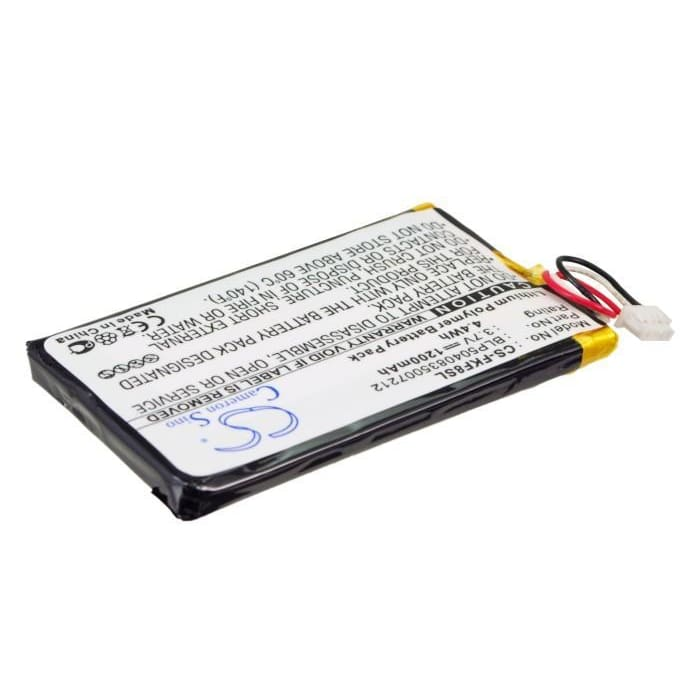 Premium Battery for Falk F10, F12, F5 3.7V, 1200mAh - 4.44Wh