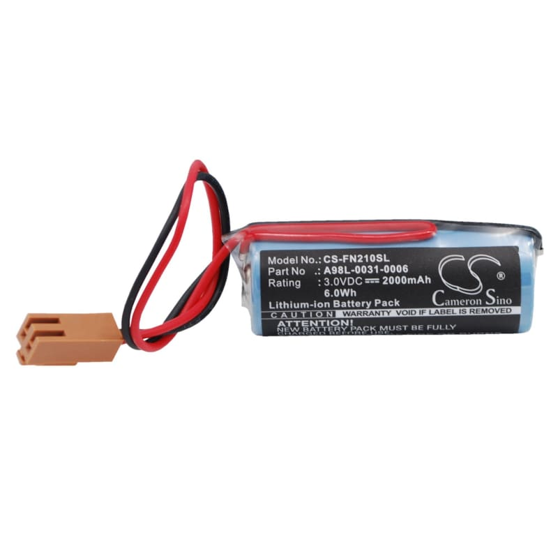 Premium Battery for Ge Fanuc Cnc Power Mate 0, Fanuc Cnc Power Mate D, Fanuc Cnc Power Mate E 3.0V, 2000mAh - 6.00Wh