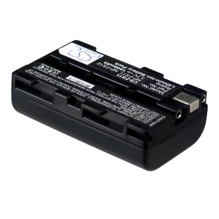 Premium Battery for Sony Ccd-cr1, Ccd-cr1e, Cyber-shot Dsc-f505, 3.7V, 1440mAh - 5.33Wh