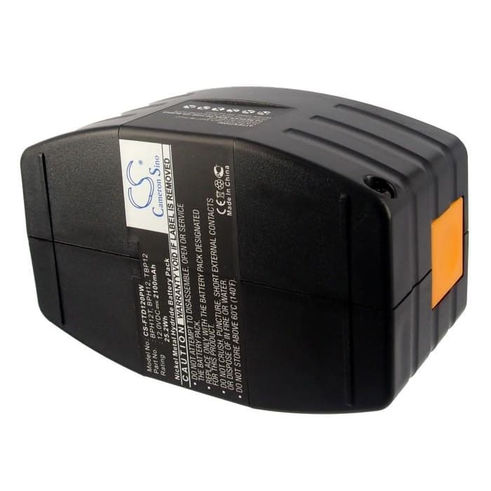 Premium Battery for Festool Tdd12, Tdd12es, Tdd12fx 12V, 2100mAh - 25.20Wh