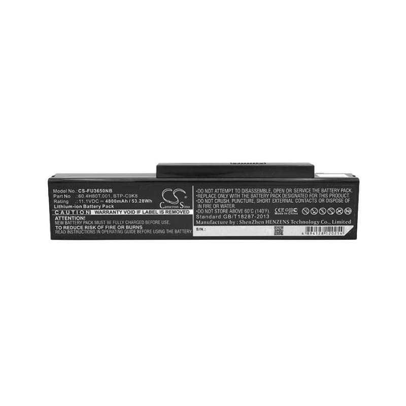 New Premium Notebook/Laptop Battery Replacements CS-FU3650NB