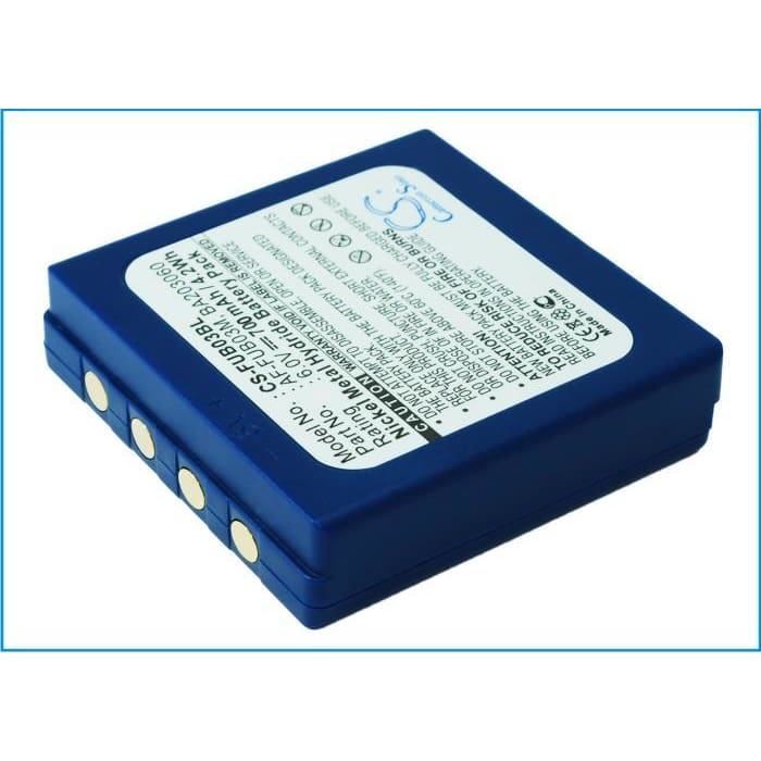 Premium Battery for Hbc Fub 3a, Fub3a, Radiomatic Ba203060 6.0V, 700mAh - 4.20Wh