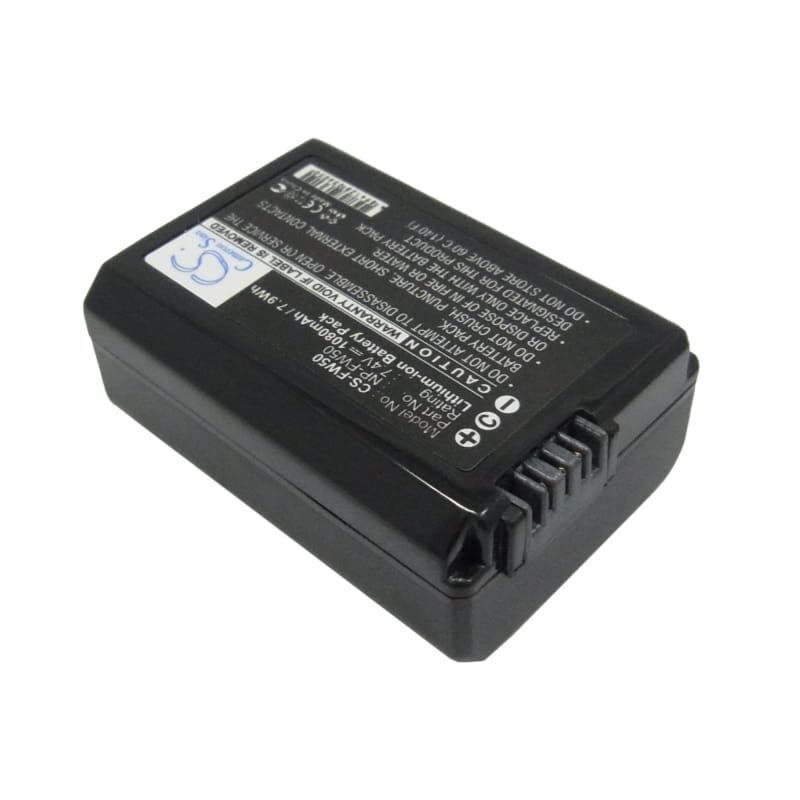 Premium Battery for Sony Dlsr A55, Slt-a35b, Alpha 7.4V, 1080mAh - 7.99Wh