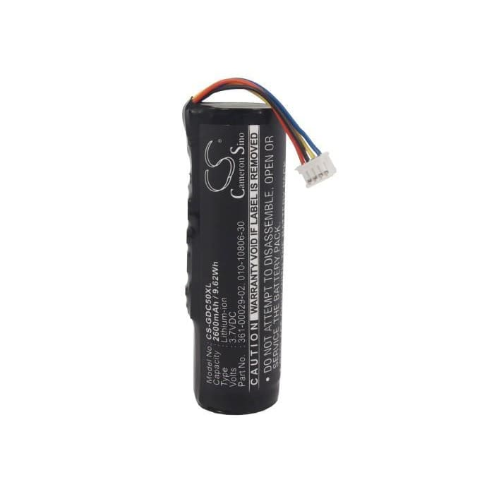 Premium Battery for Garmin Dc50, Dc50 Dog Tracking Collar, Alpha 3.7V, 2600mAh - 9.62Wh