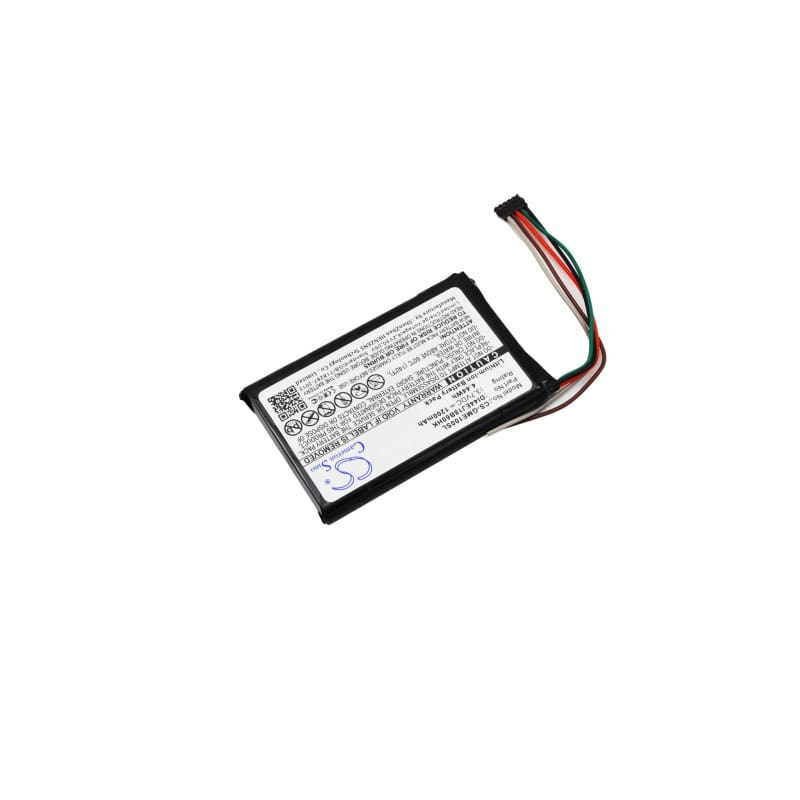 Premium Battery for Garmin 010-01161-00, Edge 1000, 3.7V, 1200mAh - 4.44Wh