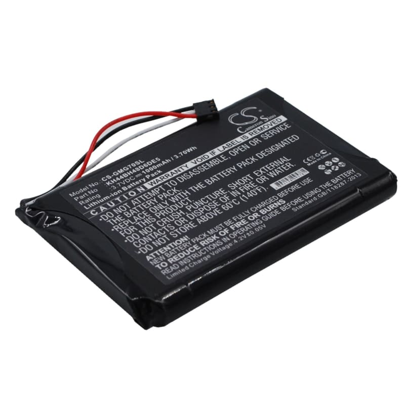 Premium Battery for Garmin Approach G7 3.7V, 1000mAh - 3.70Wh