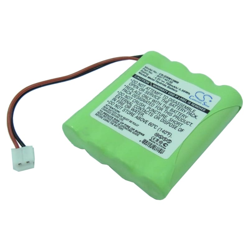Premium Battery for Graco, M, M13b8720-000 4.8V, 700mAh - 3.36Wh