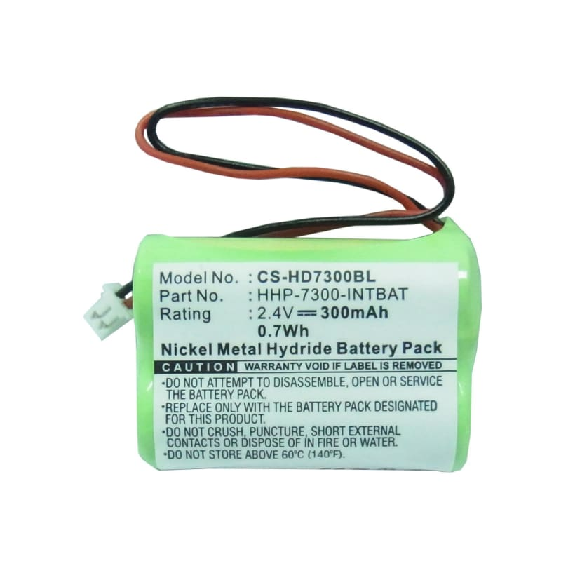 Premium Battery for Handheld Dolphin 7300, 7400, 7450 2.4V, 300mAh - 0.72Wh