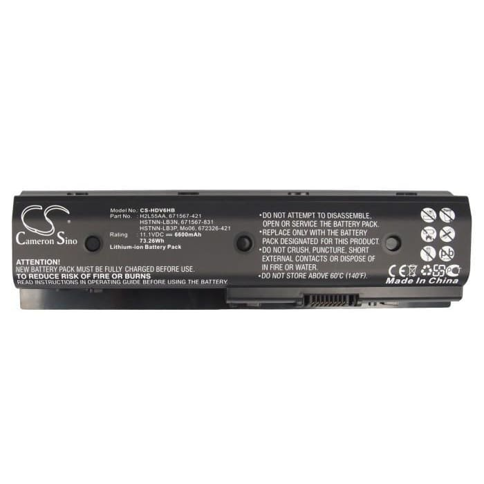 New Premium Notebook/Laptop Battery Replacements CS-HDV6HB