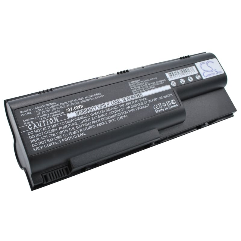 New Premium Notebook/Laptop Battery Replacements CS-HDV8000HB