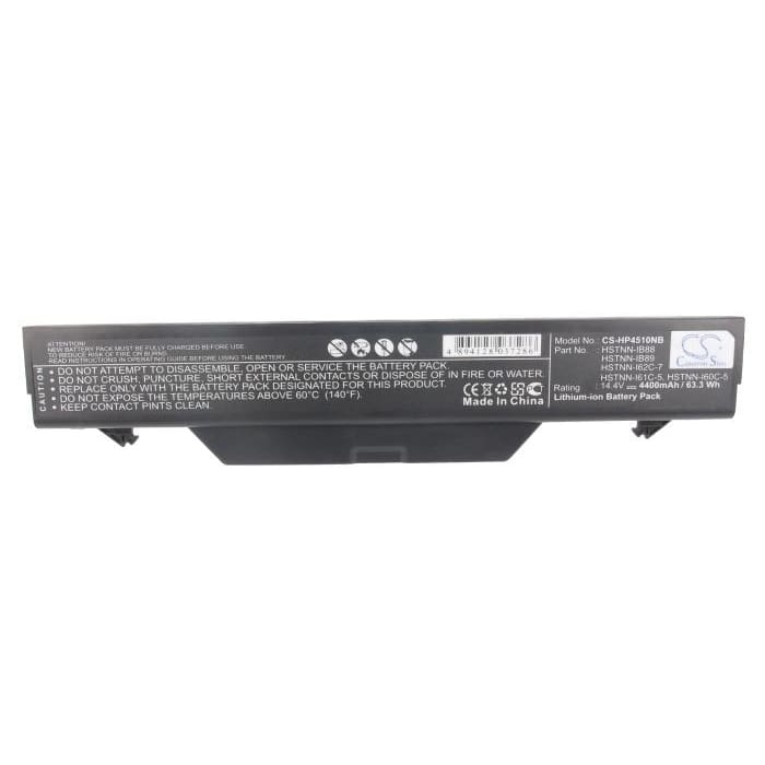 New Premium Notebook/Laptop Battery Replacements CS-HP4510NB