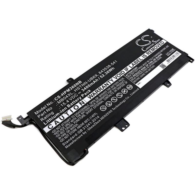 New Premium Notebook/Laptop Battery Replacements CS-HPM360NB