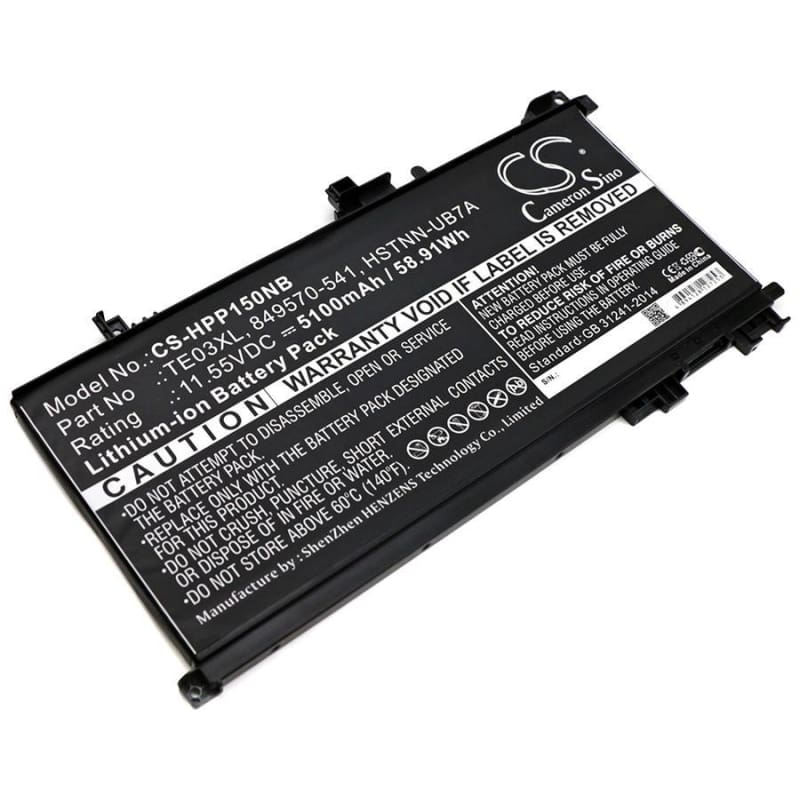New Premium Notebook/Laptop Battery Replacements CS-HPP150NB