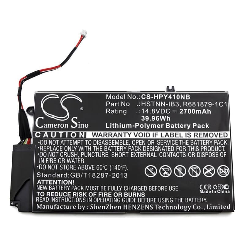 New Premium Notebook/Laptop Battery Replacements CS-HPY410NB