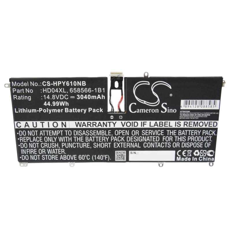 New Premium Notebook/Laptop Battery Replacements CS-HPY610NB