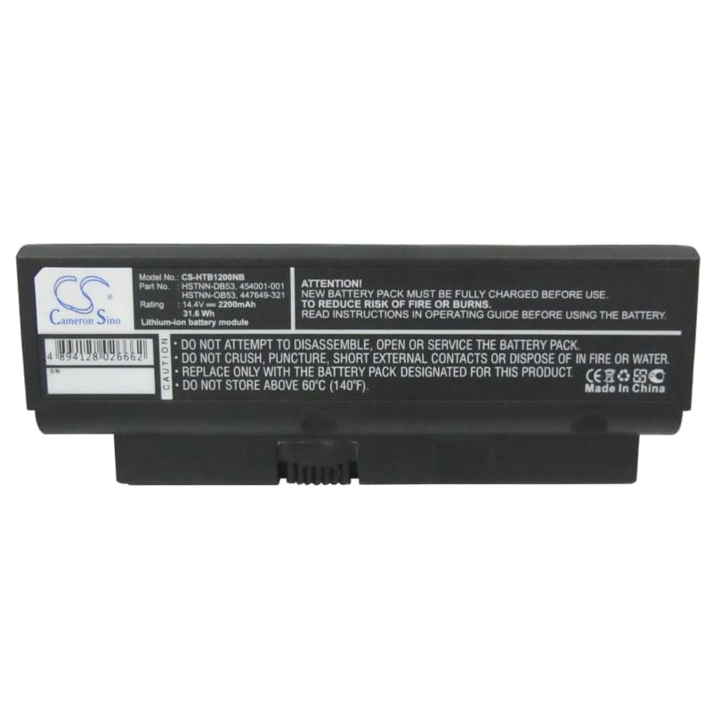 New Premium Notebook/Laptop Battery Replacements CS-HTB1200NB