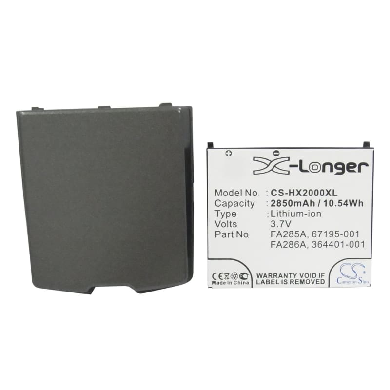 New Premium PDA/Pocket PC Battery Replacements CS-HX2000XL