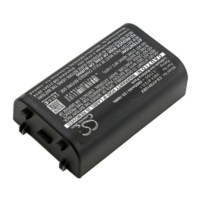 Premium Battery for Dolphin 99ex, 99exhc, 99gx 3.7V, 6800mAh - 25.16Wh