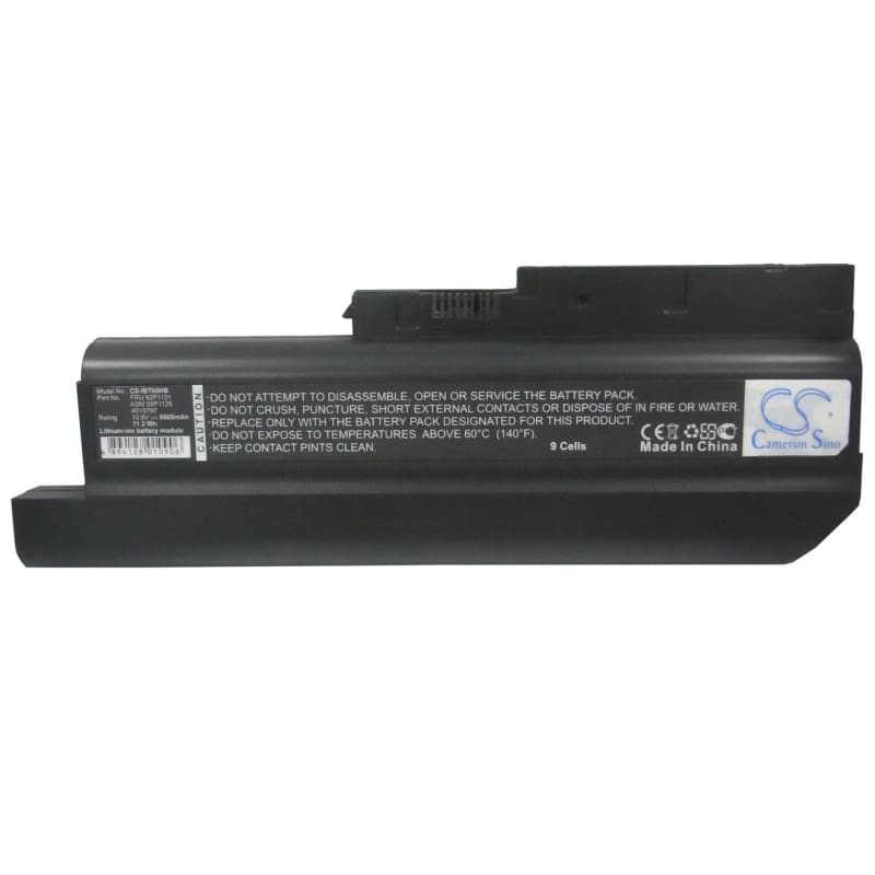 New Premium Notebook/Laptop Battery Replacements CS-IBT60HB