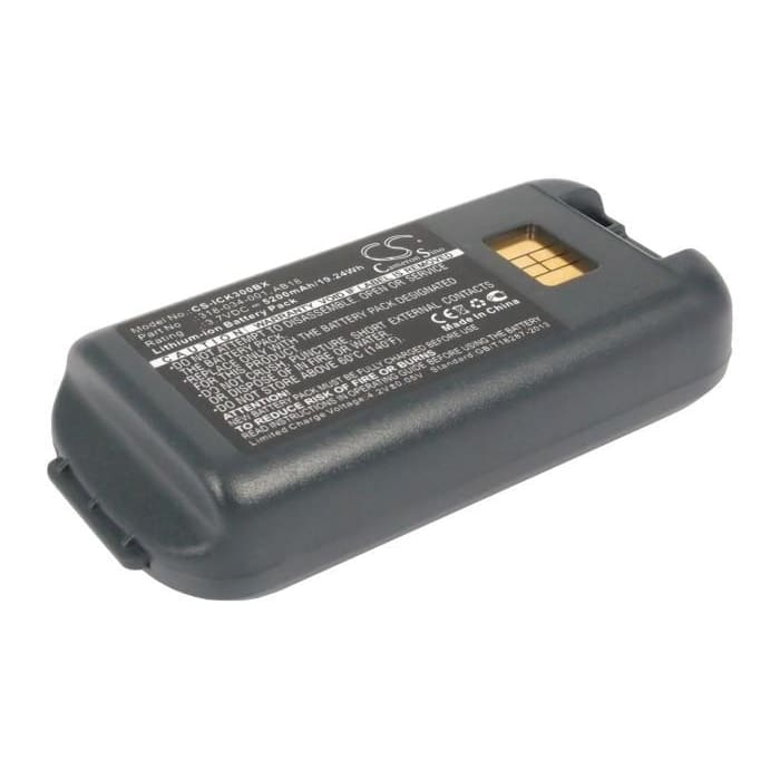 New Premium BarCode/Scanner Battery Replacements CS-ICK300BX