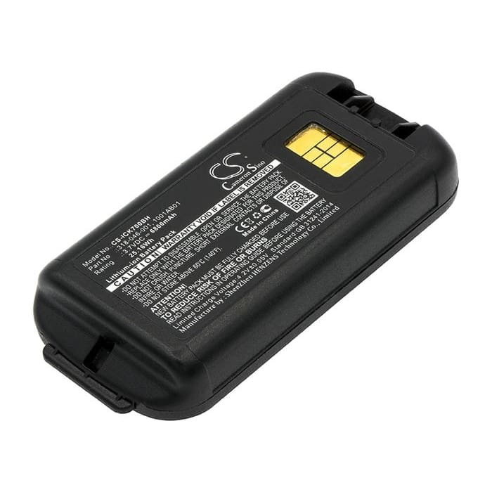 Premium Battery for Intermec Ck70, Ck71 3.7V, 6800mAh - 25.16Wh