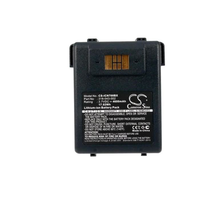 Premium Battery for Intermec Cn70, Cn70e 3.7V, 4600mAh - 17.02Wh