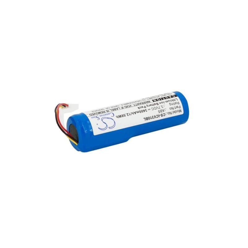 Premium Battery for Intermec, Cv30, Cv30_x000d 3.7V, 3400mAh - 12.58Wh