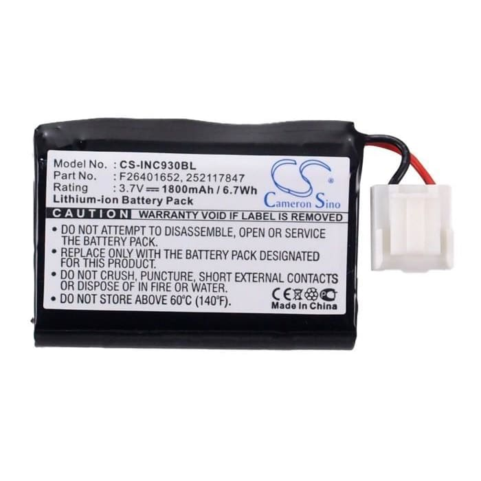 Premium Battery for Ingenico Eft930, Eft930-b, Eft930-p 3.7V, 1800mAh - 6.66Wh