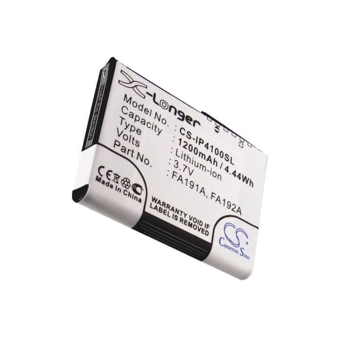 New Premium PDA/Pocket PC Battery Replacements CS-IP4100SL