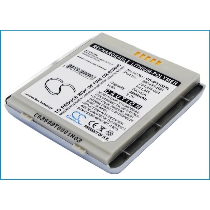 New Premium PDA/Pocket PC Battery Replacements CS-IP5100XL